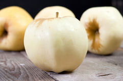 White apple Stock Image