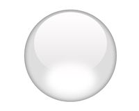 White Aqua Button Royalty Free Stock Photo