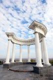 White Arbor. Poltava. Ukraine 1 royalty free stock images