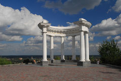 White arbour Stock Images