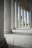 White Architectural Columns Stock Image