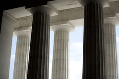 White Architectural Columns Royalty Free Stock Image