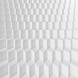 White Architecture Background. 3d White Abstract Architecture Background royalty free illustration