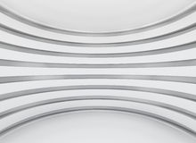White architecture circular background Stock Photography