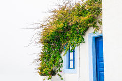 White architecture in Greece Royalty Free Stock Photos