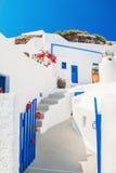 White architecture on Santorini, Greece. Stock Photography