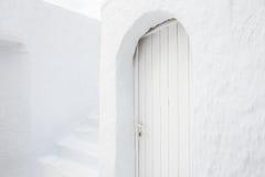 White architecture on Santorini island, Greece. National white architecture on Santorini island, Greece Royalty Free Stock Photo
