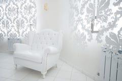 White armchair Royalty Free Stock Photo
