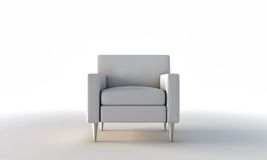 White armchair Royalty Free Stock Photos