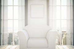 White armchair Stock Image