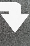White arrow Stock Photos