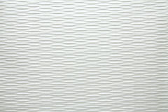Artificial fabric cellular pattern texture white Stock Photography