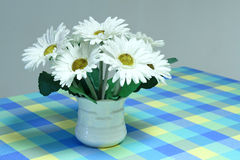 White artificial flower Royalty Free Stock Images