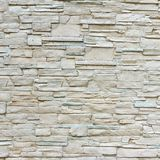 White Artificial Stone Wall. Background and Texture for text or image Stock Images