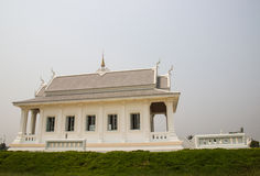 White asian church temple Stock Photography