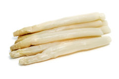 White asparagus Royalty Free Stock Image