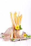 White asparagus bunch Royalty Free Stock Photography