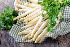 White asparagus Stock Photo