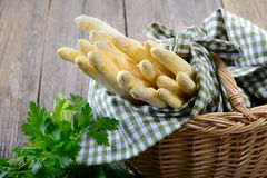 White asparagus Stock Photos