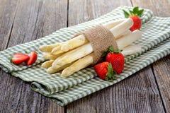 White asparagus Royalty Free Stock Photos
