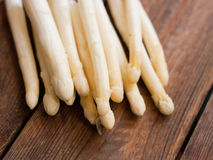White asparagus tips Stock Images
