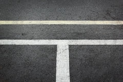 White asphalt road texture background Stock Photo