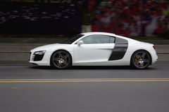 White Audi Royalty Free Stock Photography