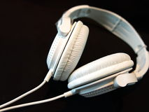 White audio device Royalty Free Stock Photo