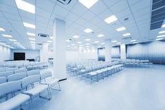 White auditorium stock photos