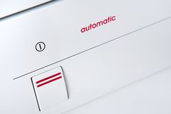 White Automatic appliance Royalty Free Stock Images