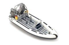 white będzie łódź Obrazy Royalty Free