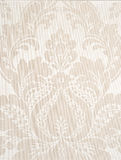 White background. Ivory textile wallpaper. floral pattern background Royalty Free Stock Images