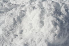 White background. Snow under the sun royalty free stock photos