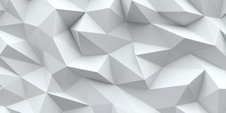 White background. Abstract triangle texture. Stock Images