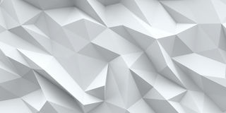 White background. Abstract triangle texture. Stock Image