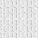 White background of abstract waves. Seamless pattern Royalty Free Stock Photo