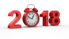 New Year 2018 stock footage