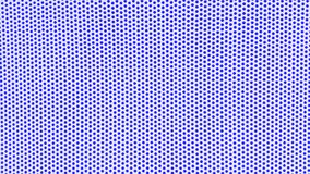 white background with blue dots