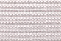 White background of dense woven bagging fabric, closeup. Structure of the textile macro. Royalty Free Stock Photos
