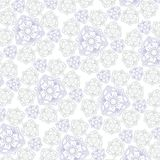 White background with ornament for fabrik Stock Photos