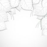 White background from paper sheet Royalty Free Stock Photos
