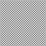 White Background with Perforated Pattern Stock Image