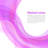 White background with pink and violet gradient and blend. Busine Royalty Free Stock Images