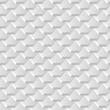 White background with seamless pattern of hexagonal tiles overla. Yed like fish scales Royalty Free Stock Photo