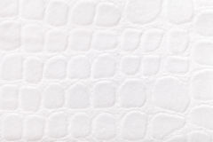 White background from soft upholstery textile material, closeup. Fabric with pattern Stock Photography
