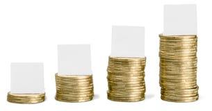 Euro coins. Euro money. Euro currency.Coins stock photo