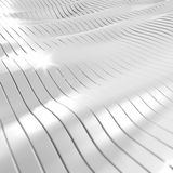 White Background. White Technology Abstract Background with lines Stock Photography