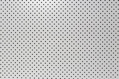 White background of wall with holes. Royalty Free Stock Image