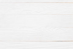 White background. White wood background in studio royalty free stock image