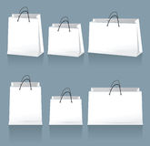 White bags Stock Images